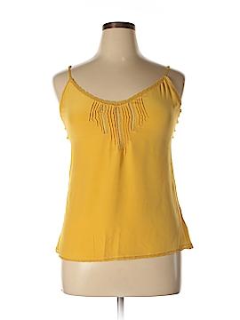 Lucky Brand Sleeveless Silk Top Size XL