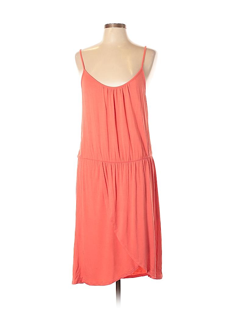 15f69201c554 Charming Charlie Solid Orange Casual Dress Size L - 50% off | thredUP