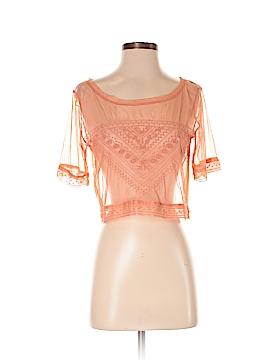 Unbranded Clothing Short Sleeve Blouse Size XS