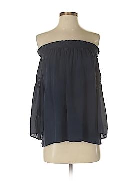 Love Sam Short Sleeve Silk Top Size XS