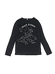 Uniqlo Boys Long Sleeve T-Shirt Size 11