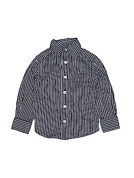Class Club Long Sleeve Button-Down Shirt Size 2T