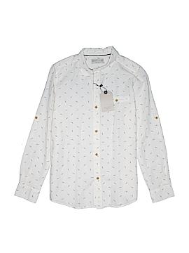 Zara Kids Long Sleeve Button-Down Shirt Size 13