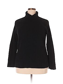 Eileen Fisher Turtleneck Sweater Size 1X (Plus)