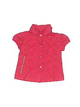 Agatha Ruiz De La Prada Short Sleeve Button-Down Shirt Size 3 mo