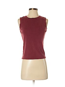 Ann Taylor Factory Sleeveless Silk Top Size S