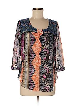 Vanessa Virginia 3/4 Sleeve Blouse Size 2