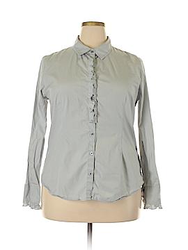 Tommy Hilfiger Long Sleeve Button-Down Shirt Size XXL