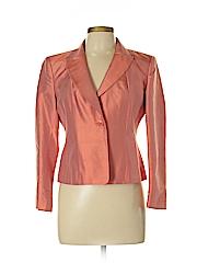 Talbots Women Silk Blazer Size 6 (Petite)