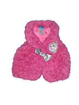 Disney Faux Fur Vest Size 2T