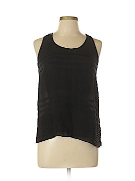 Greylin Sleeveless Silk Top Size L