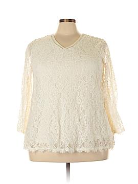 Style&Co 3/4 Sleeve Blouse Size 21