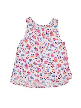 Tucker + Tate Sleeveless Button-Down Shirt Size 10