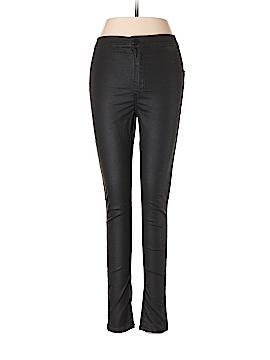 Topshop Faux Leather Pants 28 Waist