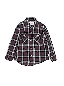Tucker + Tate Long Sleeve Button-Down Shirt Size 3