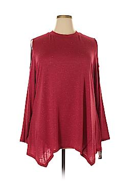 Style&Co Long Sleeve Blouse Size 3X (Plus)
