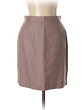 Valentino Miss V Wool Skirt Size 12