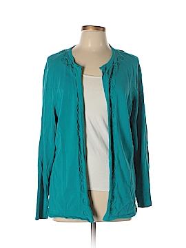 August Silk Cardigan Size 4 (Plus)