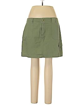 French Cuff Denim Skirt Size 14