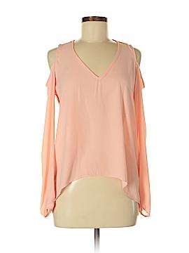 Aqua Long Sleeve Blouse Size XS