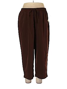 Susan Graver Velour Pants Size 2X (Plus)