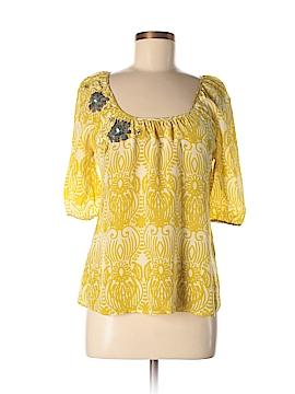 Edme & Esyllte Short Sleeve Silk Top Size 4
