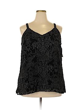 INC International Concepts Sleeveless Blouse Size 1X (Plus)