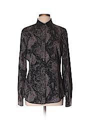 T Tahari Women Long Sleeve Blouse Size L