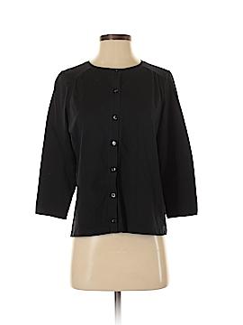 Lands' End 3/4 Sleeve Button-Down Shirt Size S (Petite)