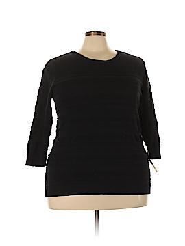 Karen Scott Sport Pullover Sweater Size 2X (Plus)
