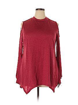 Style&Co Long Sleeve Blouse Size 1X (Plus)