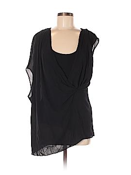PureDKNY Short Sleeve Top Size M
