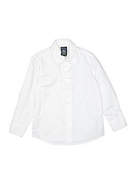 Nautica Long Sleeve Button-Down Shirt Size 5