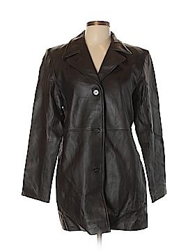Alfani Leather Jacket Size L