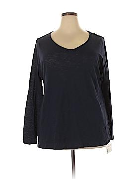 INC International Concepts 3/4 Sleeve T-Shirt Size 2X (Plus)