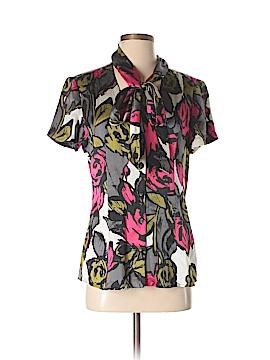 Trina Turk Short Sleeve Silk Top Size 6