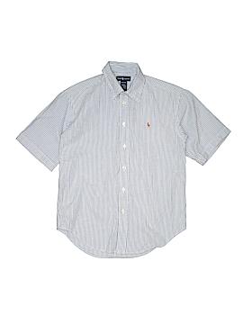 Ralph Lauren Short Sleeve Button-Down Shirt Size 12