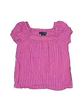 Basic Editions Short Sleeve Blouse Size 5