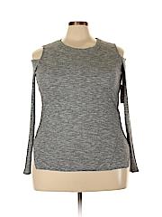 RACHEL Rachel Roy Women Long Sleeve Top Size 1X (Plus)