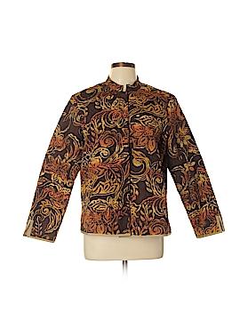 Laura Ashley Silk Blazer Size L
