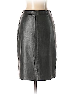 Donna Karan New York Leather Skirt Size 0