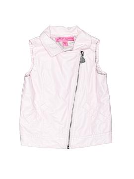 Betsey Johnson Faux Leather Jacket Size 4T
