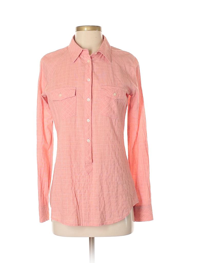C&C California Women Long Sleeve Button-Down Shirt Size XS