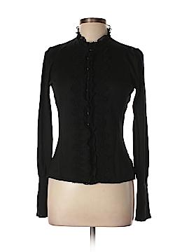 T Tahari Silk Cardigan Size L