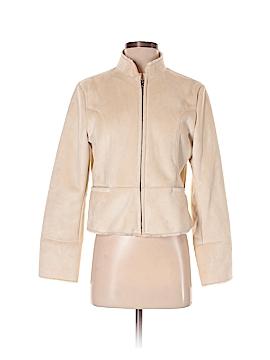 Alfani Faux Leather Jacket Size S (Petite)