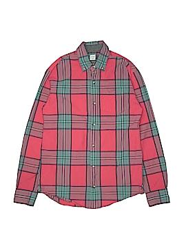 Crewcuts Long Sleeve Button-Down Shirt Size 14