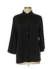Softwear by Mark Singer Women 3/4 Sleeve Blouse Size M