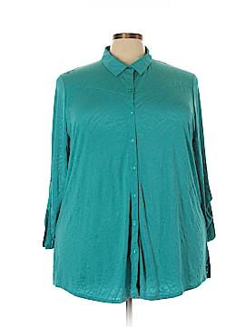 Erin London Long Sleeve Top Size 3X (Plus)