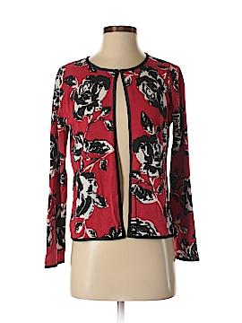 Jones New York Signature Silk Cardigan Size S (Petite)