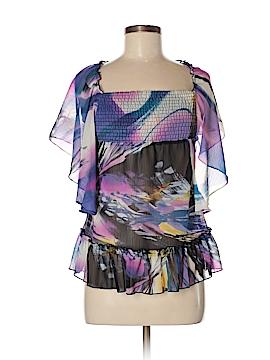 Belle du Tour Girls Short Sleeve Blouse Size S